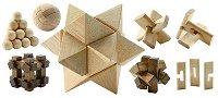 Дървени фигури за сглобяване - играчка
