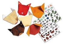 Оригами - Животни - Творчески комплект - творчески комплект
