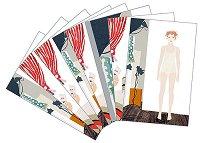 Оцветявай с флумастери и стикери - Модно ревю - Творчески комплект за рисуване - играчка