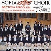 Софийски хор на момчетата - Britten - Pergolesi - албум