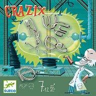 Crazix - Шест пъзела с метални елементи -