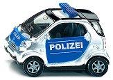 """Полицейска кола - Smart - Метална количка от серията """"Super: Police"""" - играчка"""