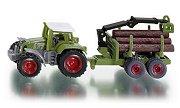 """Трактор с ремарке за горското стопанство - Метална играчка от серията """"Super: Agriculture"""" - играчка"""