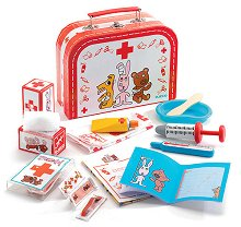 Детски ветеринарен комплект - В куфарче - играчка