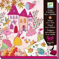 Комплект печати - Принцеси - Творчески комплект за рисуване - творчески комплект
