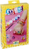 Декорирай сама - Кристални бижута - Творчески комплект - детски аксесоар
