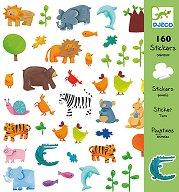 Комплект стикери за декорация - Животни