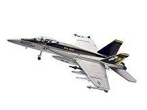 Военен изтребител - F-18 Hornet - Сглобяем авиомодел -