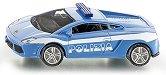 """Полицейска кола - Lamborghini Gallardo - Метална количка от серията """"Super: Police"""" - играчка"""