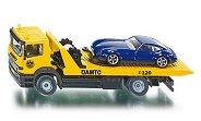 """Авариен камион с ремарке и автомобил - Метални играчки от серията """"Super: Emergency rescue"""" -"""