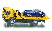 """Авариен камион с ремарке и автомобил - Метални играчки от серията """"Super: Emergency rescue"""" - количка"""