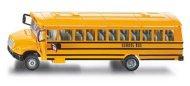 """Училищен автобус - Метална играчка от серията """"Super: Bus & Rail"""" - фигура"""