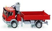 Камион с кран - Mercedes Atego - Комплект с аксесоари -
