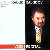 Kaludi Kaludov - Verdi recital - албум