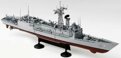 Военен кораб - USS Oliver Hazard Perry FFG-7 - Сглобяем модел -