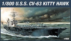 Самолетоносач - U.S.S. CVN-63 Kitty Hawk - Сглобяем модел - макет