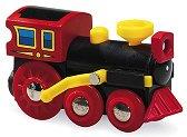 Детски парен локомотив - Old steam engine - Дървена играчка - играчка