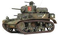 Танк - U.S. M3A1 Stuart Light Tank - Сглобяем модел - макет
