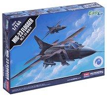 Военен самолет - Миг 23 Flogger - Сглобяем авиомодел - макет