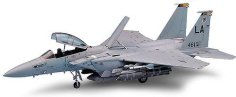 Военен изтребител - F-15Е Strike Eagel - Сглобяем авиомодел - макет