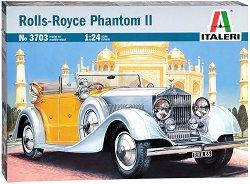 Автомобил - Rolls-Royce Phantom II - Сглобяем модел - макет