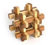 Grid box - 3D пъзел от бамбук -