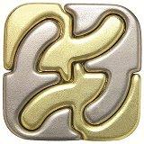 Square - 3D метален пъзел -