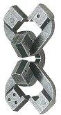 Chain - 3D метален пъзел -