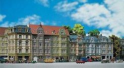 """Сгради на улица """"Goethestrasse"""" - Сглобяем модел -"""