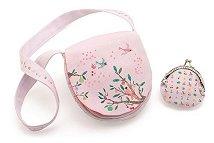 Детска чанта и портмоне - Лятна градина - раница