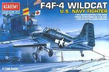 Военен самолет - Wildcat F4F-4 - макет