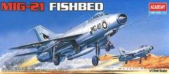 Военен самолет - Миг 21 Fishbed - Сглобяем авиомодел - фигури