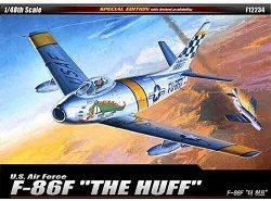 Военен самолет - F-86F Sabre Mig Killer - Сглобяем авиомодел - макет