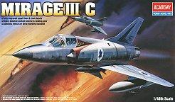 Военен самолет - Mirage III C - макет