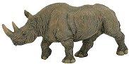 Черен носорог - Фигура от серията Диви животни - фигура