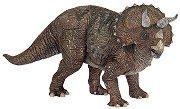 "Динозавър - Трицератопс - Фигура от серията ""Динозаври и праистория"" - играчка"