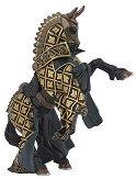Конят на рицаря Бик - Фигура от серията Рицари - играчка