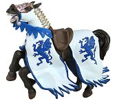 Конят на рицаря на Синия дракон - макет
