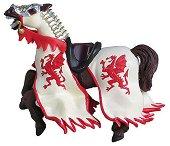Конят на рицаря на Червения дракон - играчка