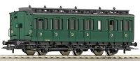 Пътнически вагон - Трета класа - макет