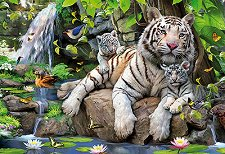 Бенгалски тигри - пъзел