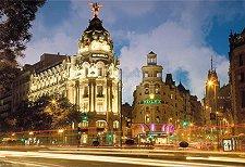 Gran Via - Мадрид - пъзел