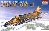 Военен самолет - Phantom II - макет