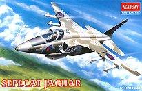 Военен самолет - Sepecat Jaguar - макет