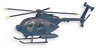 Военен хеликоптер - MH-6 Stealth - Сглобяем авиомодел -
