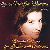 Надежда Влаева - Shopin Works for Piano and Orchestra - албум