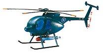 Военен хеликоптер - Hudges 500MD ASW - Сглобяем авиомодел -