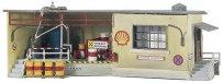 Офис на склад за гориво - Shell - Сглобяем модел -