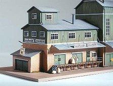 Склад за зърно - Billinger - Сглобяем модел -