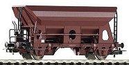 Товарен вагон за насипни материали - ЖП модел - макет